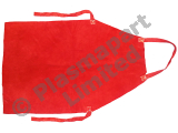 "Red Leather Apron Kevlar Stitched Heat Res 24"" x 36"" PP20217"