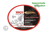 "Hose - RMX 8mm - 15m 3/8"" Nut with 3/8"" HCV Acetylene PP22222"