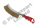 Scratch Brush - Mild Steel - Red PP23086