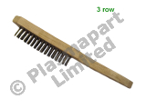 Wire Brush - Mild Steel - 3 Row PP23088