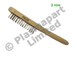 Wire Brush - Stainless Steel - 2 Row PP23091