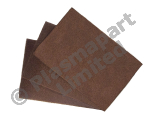 10 Hand Pads - Brown - Coarse PP24584