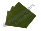 10 Hand Pads - Green - General Purpose PP24586