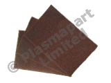 10 Hand Pads - Maroon - Very Fine A PP24588