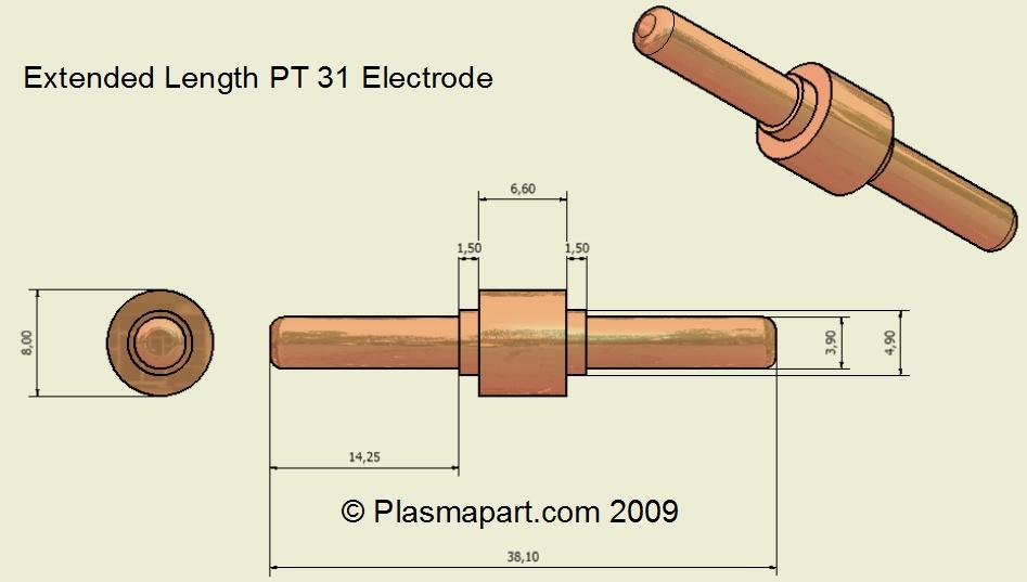 PT31 Extended Electrode