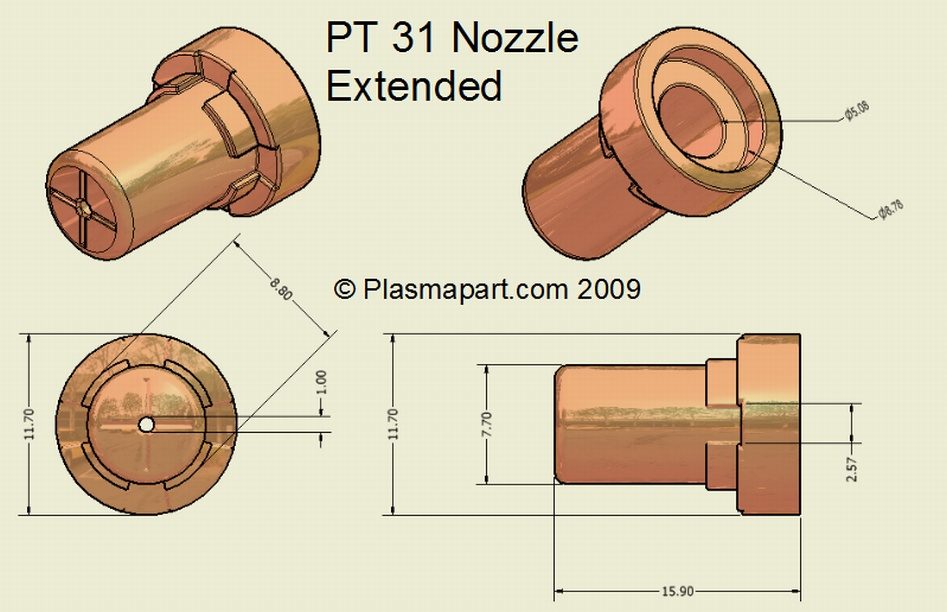PT31 Extended Nozzle