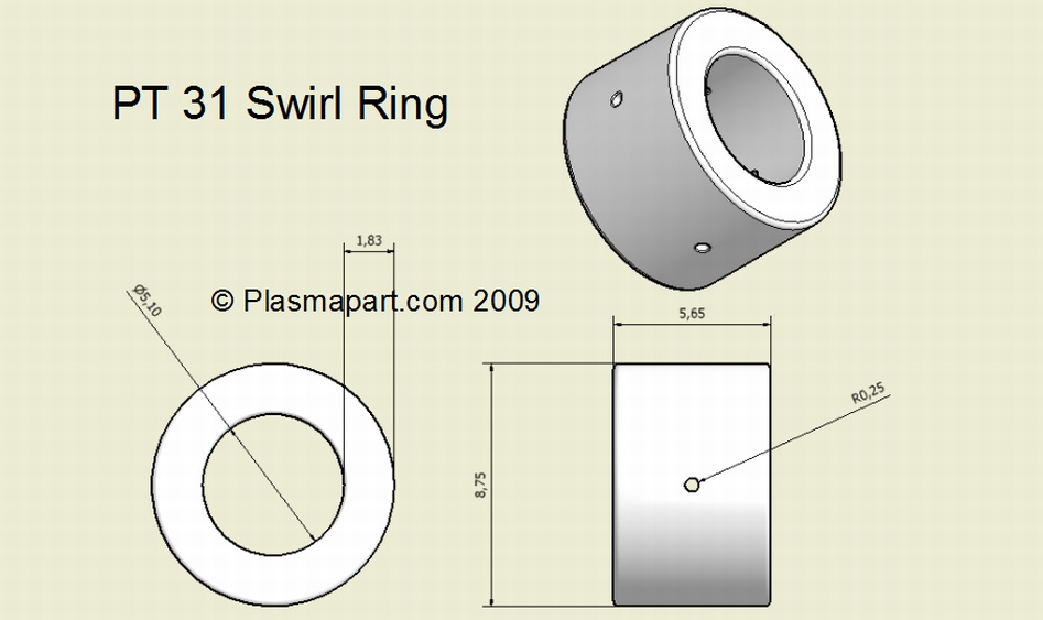 PT31 Swirl Ring